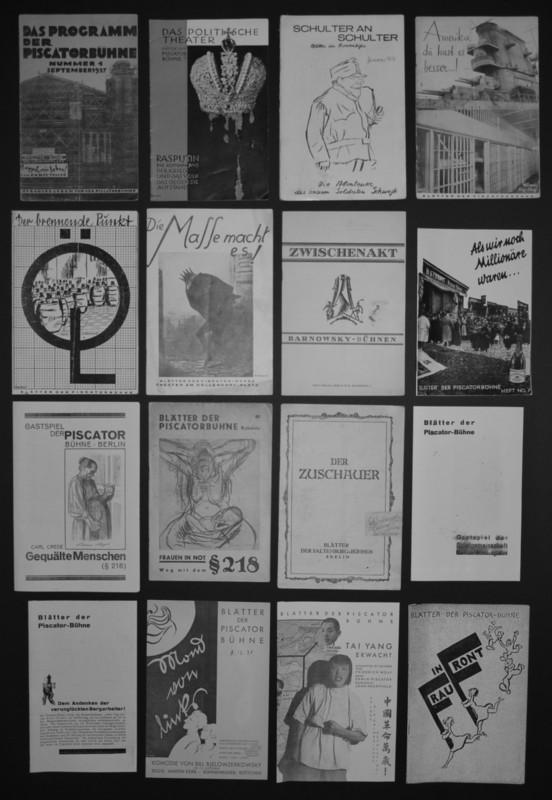 Blätter der Piscator-Bühne (September 1927 bis Februar 1931)